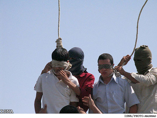 Iranian Mullahs Execute Two Teenagers For Gay Sex
