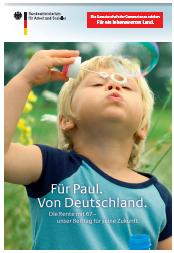 Für Paul. Von Deutschland