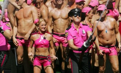 Pink Police, Amsterdam 2007