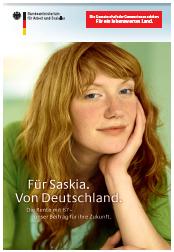 Für Saskia. Von Deutschland
